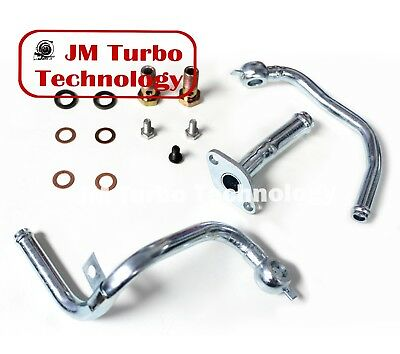 Turbo Oil Water Pipe Kit For Subaru Legacy Forester Liberty GT VF40 VF46 VF52