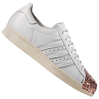 adidas Originals Superstar 80s Metal Toe 3D Damen Sneaker BB2034 Weiß Gold   eBay