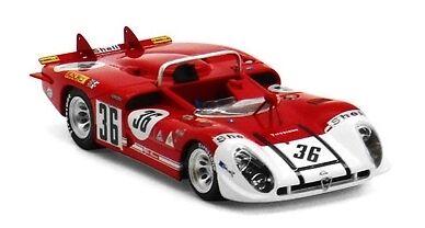 Alfa Romeo Tipo 33 3  36 24h Le Mans 1970 1 43 Model TRUE SCALE MINIATURES  | Sehr gute Qualität