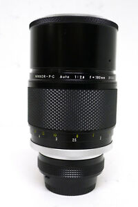 Nikon-180mm-f2-8-P-C-MF-Telephoto-AI-Lens-f-Film-amp-Digital-SLR-Camera-NR