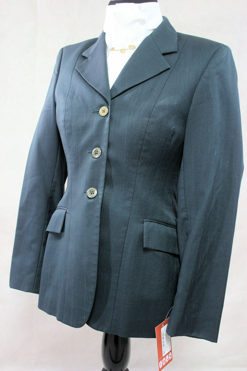 Grand Prix Hunter Green Ladies Show   Hunt Coat, Size  10R Ref  897-538