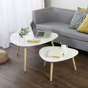 Nest Of Tables White Retro Furniture