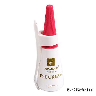 New Fashion Eyelash Adhesive Glue Waterproof White 12ml Fashion Makeup Tool