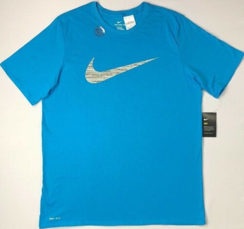 Men/'s Big and Tall Nike Dry Dri-Fit Athletic Cut Cotton Tee T-Shirt