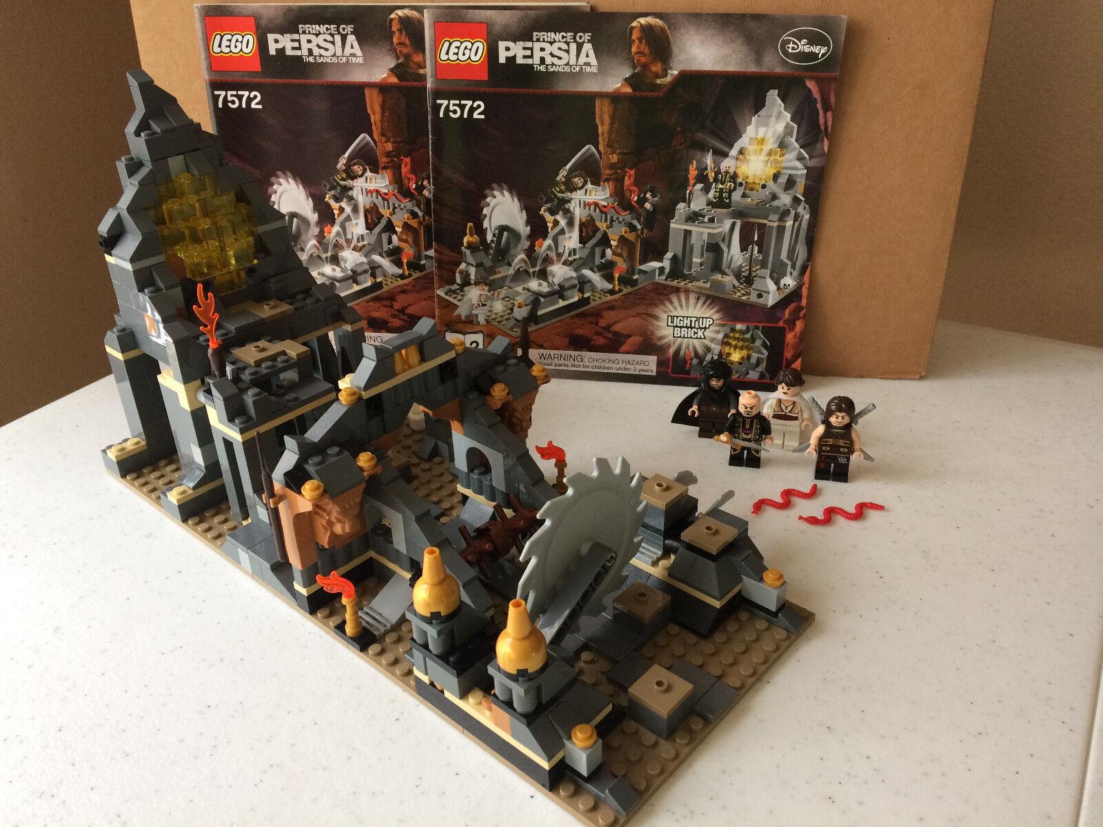 Lego 7572 Prince of Persia Quest Against Time Manual Minifigure 100% Set 501 pcs