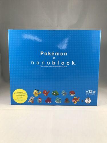 Série Pokemon 12 Nano block Espèces Mini 6w6F0r