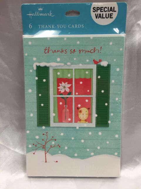 Christmas Notecards.Hallmark Christmas Cards Money Holders Gift Invitations Notecards Thank You Card
