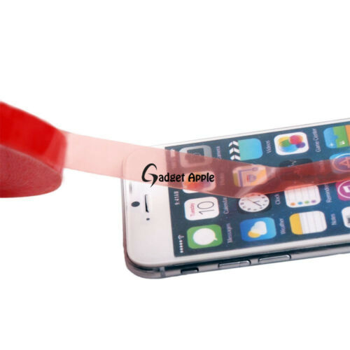 50M Adhesive RED Double Side Strong Sticky High Temp Tape Cell Phone LCD Screen