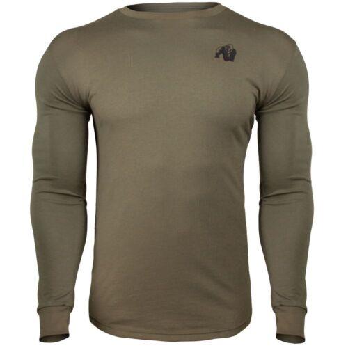 Gorilla Wear Williams Longsleeve Army Green