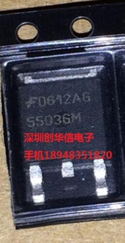 50 PCS NEW 5503GM Manu:FAIRCHIL TO-252 #Q638 ZX