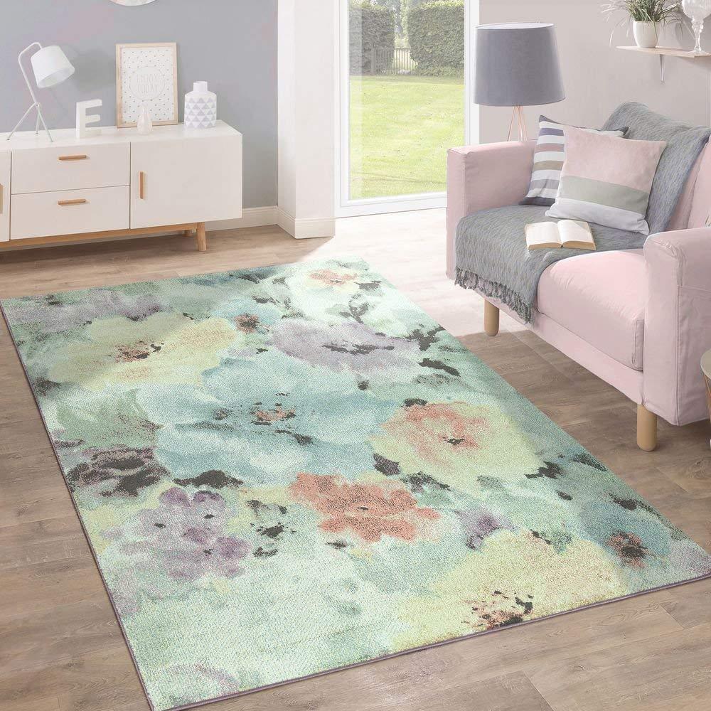 Coloreee pastello tappeti moderni floreale corridoio stanza Pavimento Nuovo Tappeto piccolo X Large MAT