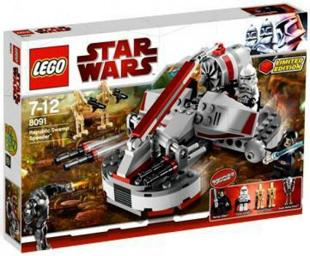 LEGO Star Wars The Clone Wars Republic Swamp Speeder Exclusive Set  8091