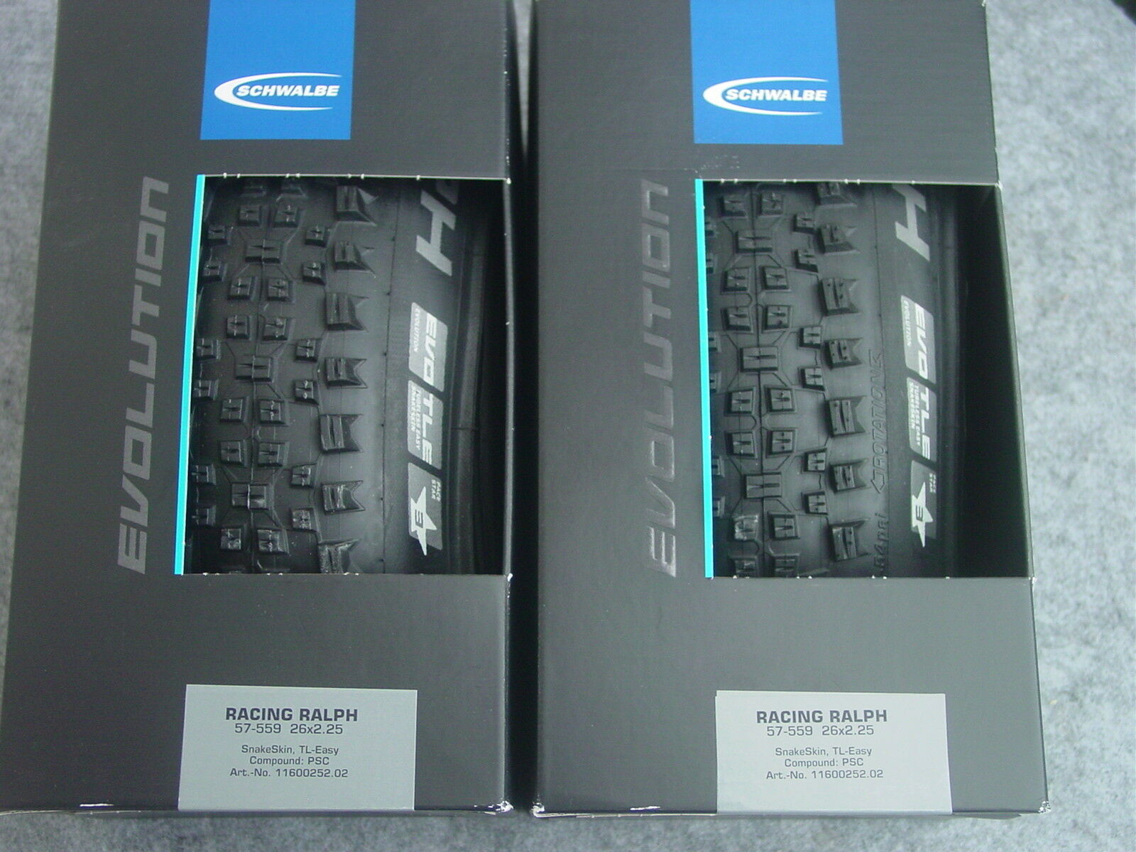 1 Paar Schwalbe Racing Ralph Evolution Falt Tubeless Ready  26,27,29 Zoll neu ovp  100% price guarantee