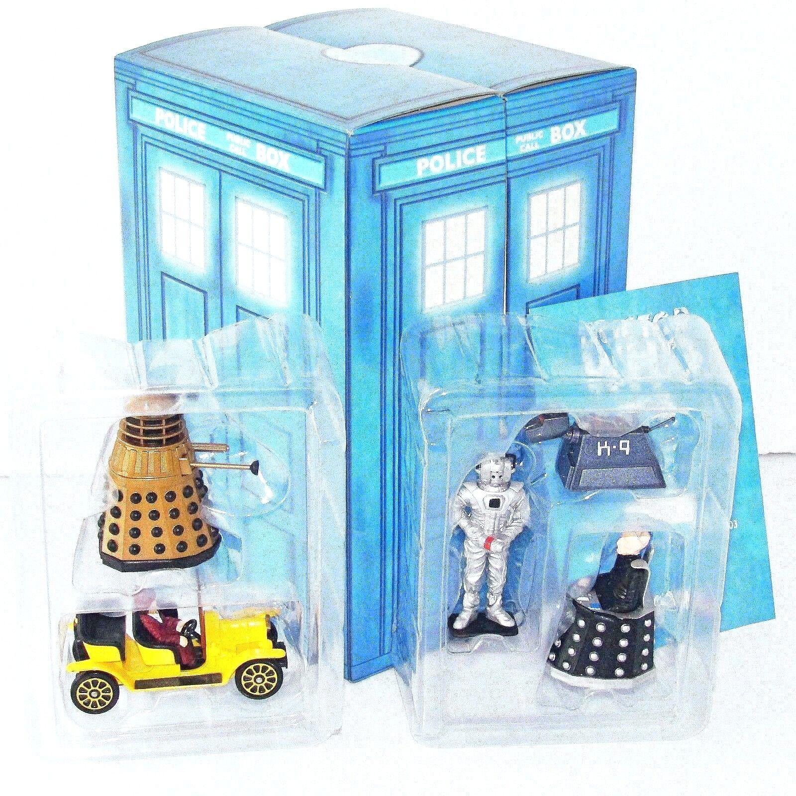 Corgi Toys 1 43 DR. WHO POLICE TELEPHONE StiefelH TV Movie Model Car + Figures MIB