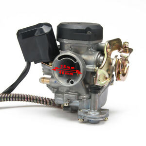18mm Keihin Cvk Carb Carburador Pd18j Para Gy6 50cc 139qmb 139qma Scooter Jonway Ebay