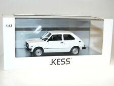 KESS Scale Models, Fiat 127L (Fiat 127) 3P, 3-türig, 3 Doors, 1977, white, 1/43