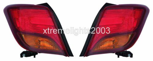 TOYOTA YARIS HATCHBACK 2015-2016 RIGHT LEFT TAILLIGHT TAIL LIGHT REAR LAMP PAIR