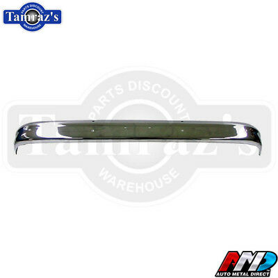 63-66 Chevy Pick Up C//K Pickup Truck Front Chrome Bumper Guards Bumperettes AMD