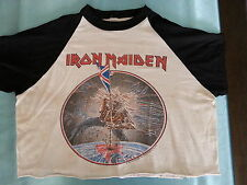 "IRON MAIDEN      ""VINTAGE TOUR  SHIRT -  THE  BEAST  ON  THE  ROAD  TOUR  1982"""