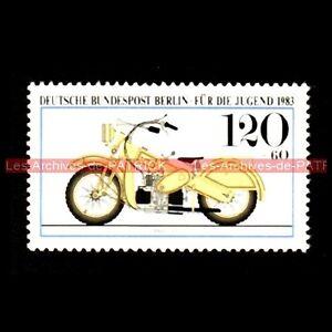 MARS 1925 DEUTSCHE BUNDESPOST BERLIN ALLEMAGNE Timbre Poste Moto Stempel Stamp - France - TIMBRE POSTE MOTO MARS - 1925 Pays : Allemagne Année : 1983 Neuf, trs bon état Dimensions : 25x42 mm !!! Document Original ; NO COPY !!! Inscrivez-vous PayPal. Cest simple, rapide et gratuit. Noubliez pas de majouter votre liste de favoris ! Ec - France