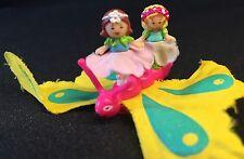 Polly Pocket Mini  🦋 1996 Butterflyer Butterfly Fairy Flower Schmetterling