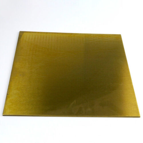 "PLATE ALLOY 260 1//2/"" x 4/"" x 12/"" BRASS SHEET"
