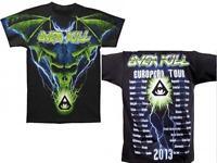 OVERKILL - All Over Blue Skull Tour 2013 - T-Shirt - Größe Size L - Neu