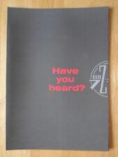 CITROEN ZX range 1991 UK Market launch sales brochure