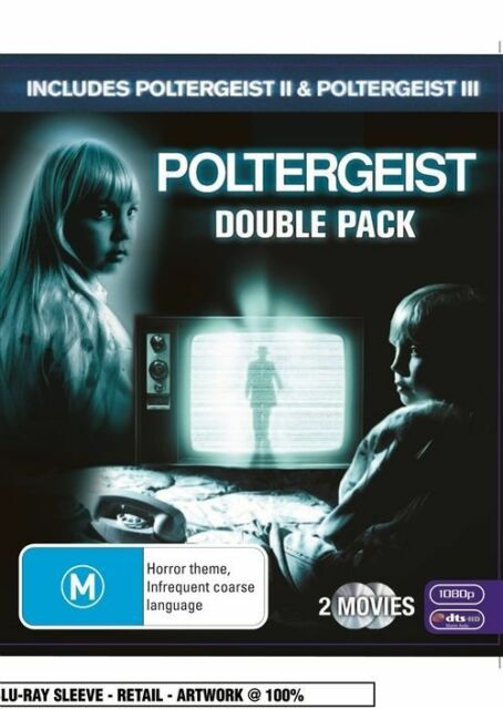 Poltergeist 2+3 [II+III] DOUBLE PACK DVD 2-MOVIES HORROR SCI-FI BRAND NEW R4