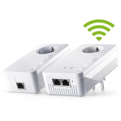 devolo dLAN 1200+ WiFi ac Starter Kit (1200Mbit, 2er Kit, Powerline + WLAN ac)
