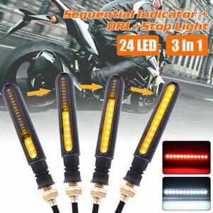 4X-Motorcycle-24-LED-Turn-Signal-Flowing-Water-Light-Indicators-Amber-Motorbike