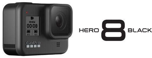 GoPro Hero 8 Black Edition Kamera 4K - Neu -