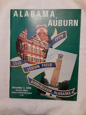1979 Alabama Auburn National Champions original college ...
