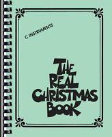 The Real Christmas Book Sheet Music C Edition Includes Lyrics Real Bo 000240306