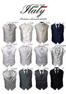 Gilet-uomo-sartoriale-cerimonia-su-misura-grigio-fantasia-plastron-o-cravatta