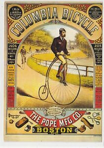 CP Poster Columbia Bicycle Boston Edit Nugeron C11