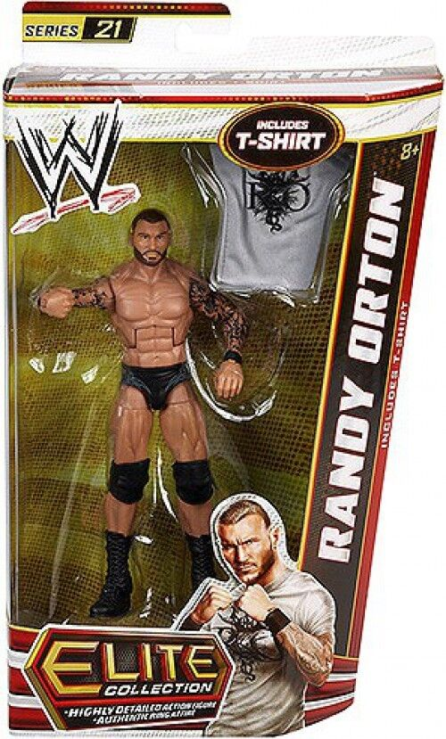 WWE Wrestling Elite Series 21 Randy Orton Action Figure [T-shirt]