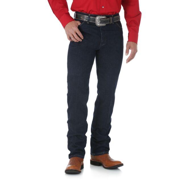Men's Silver Editions Wrangler Cowboy Cut@Original Fit Jeans Dark Denim Jeans