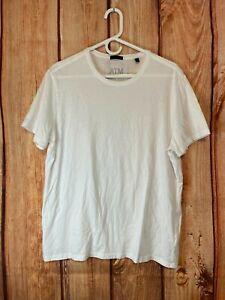 ATM~Anthony Thomas Melillo Crew T Shirt White Sz L