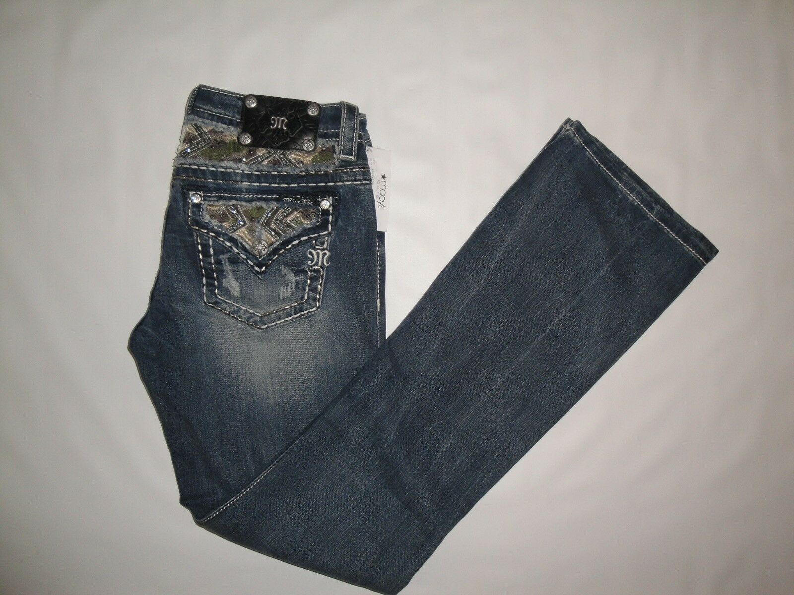 MISS ME Signature Rise Bootcut Jeans NWT  Size 28Wx34L