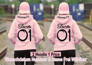 Partner Stück Xs Hoodie 2 2xl Friends Best Look Sister Bis New Pullover Rxq1TSqE