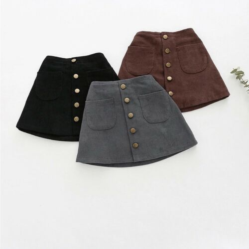 Baby Toddler Girls New Fashionable Corduroy Skirt Bottom