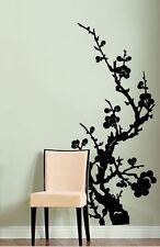 "Vinyl Wall Decal Sticker Japanese Asian Flower 46""x21"" #176A"
