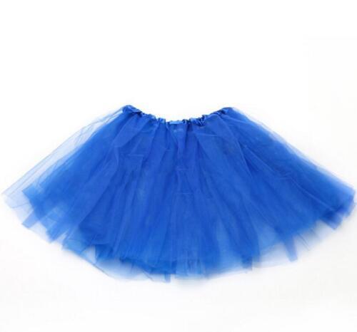 High Quality Ladies Girls Kids Tutu Skirt Fancy Skirt Dress Up Party 3 Layers