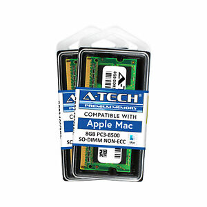 16GB-Kit-2X-8GB-SODIMM-Apple-iMac-Late-2009-PC3-8500-A1311-MB950LL-A-Memory-Ram
