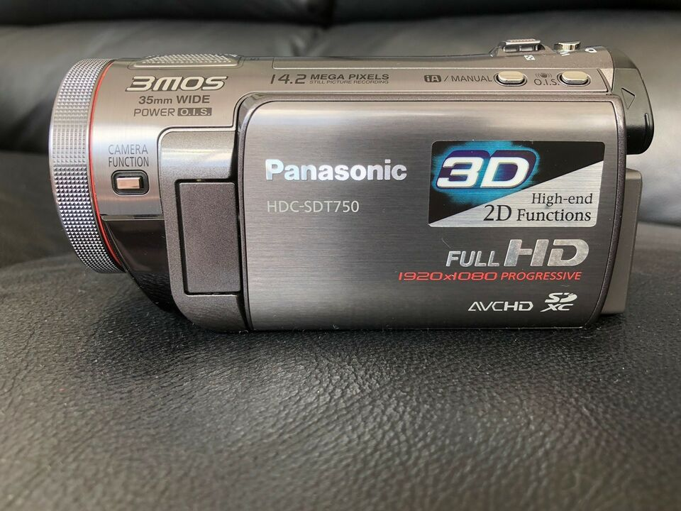 3D , digitalt, Panasonic