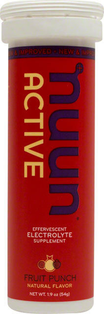New Tablets: Nuun Active Hydration Tablets: New Fruit Punch Box of 8 Tubes 0f4d22
