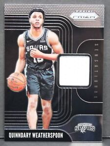 2019-Panini-Prizm-Quinndary-Weatherspoon-Sensational-Swatches-Rookie-Jersey-Card