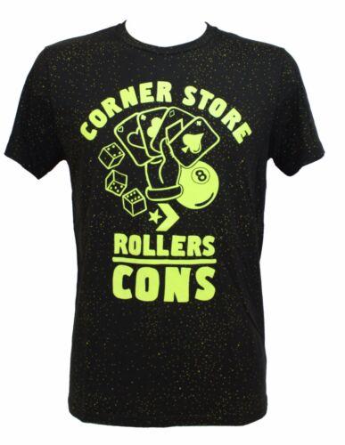 Rollers Uomo 6su353a 50 shirt Converse Maglietta Nero Giallo Dots Tg Grap L T vSwZqw5