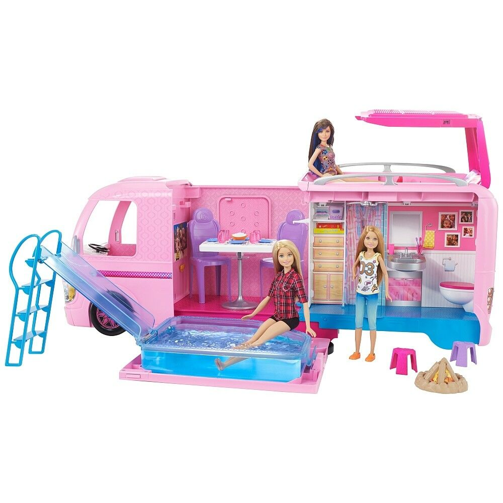 Mattel Barbie FBR34 Super Abenteuer Camper - NEU OVP
